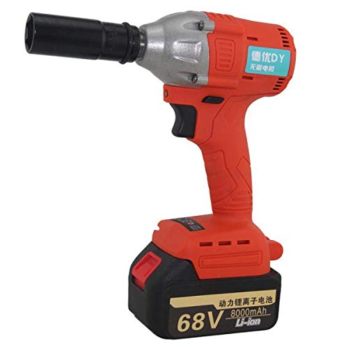 Powerful Cordless Drill Set & Screwdriver Impact Power Tool, Fast Charger