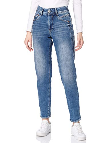 Herrlicher Damen Gila HI Conic Recycled Denim Jeans, Retro Marvel 869, W29/L30