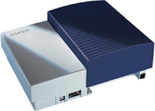 AS 43 IP-DECT weiß 3 M-Steckplätze, davon 1 M-Steckplatz inkl. 1 LAN-Modul 509. Variable M-Bestückung, PC-Zug. über LAN, USB oder ser. Schnittst., AIS on Board, inkl. SW