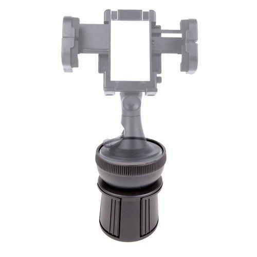 DURAGADGET Support Voiture Porte-gobelet pour GPS Philips PNS 500 / PNS500, Mappy ITi S449, Mini 301 Europe et Ulti X575 LM Camp, NAVIGON GPS 72 Plus
