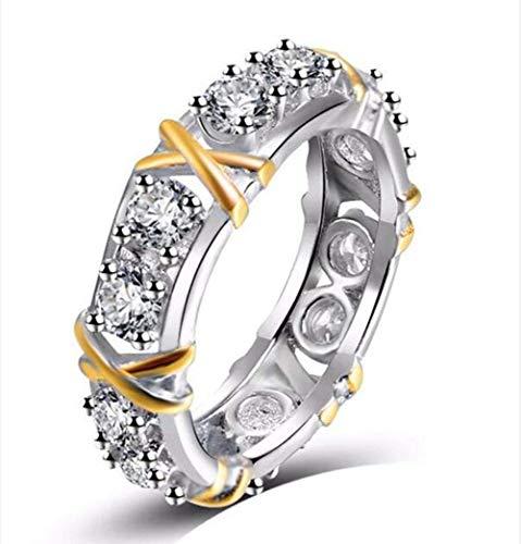 Stijlvolle eenvoud damesringen, Fashion Belofte Ring, 9#, MN 6#