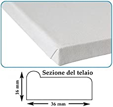 Colore Bianco Set di 6 cornici a Cuneo Akademie Tebery in 100/% Cotone 30 x 40 cm