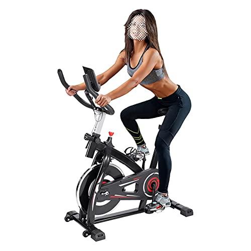 Ciclette per casa Con trasmissione a cinghia silenziosa Spin bike Sensori palmari Cyclette diadora Per la costruzione muscolare