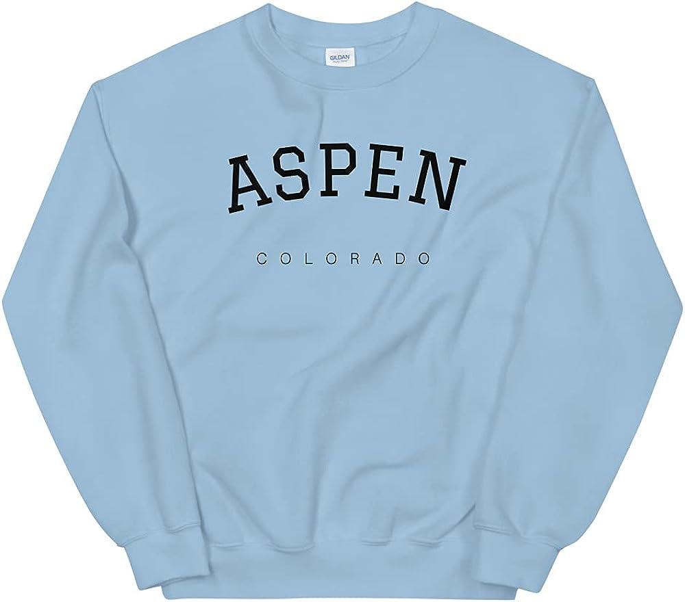 Aspen Sweatshirt, Aspen Crewneck, Aspen Colorado