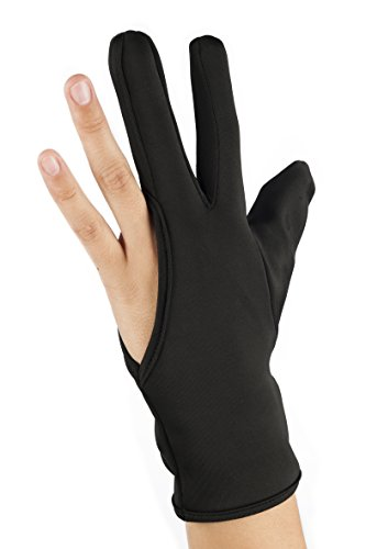 Eurostil Hitzeschutz Handschuh schütz vor Verbrennungen mit dem Lockenstab, Glätteisen, Haarglätter