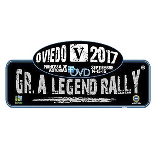 PEGATINEA Aufkleber Rallye GR.A Legend Rally Oviedo 2017 PR171