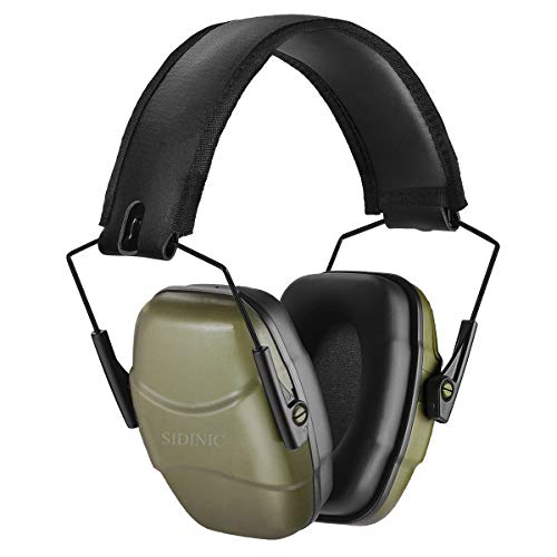 34 dB NRR Noise Reduction Safety Shooting Ear Muffs,Shooters Hearing Protection Adjustable Ear Muffs,Professional Ear Defenders for Shooting Hunting Fits Adults to Kids
