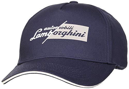 Automobili Lamborghini Herren CAPPELLINO Slashed Logo Baseballkappe, 240, One Size