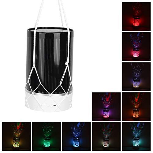 Projector Nachtlampje LED-beschermer, LED Kleurrijke Star Sky Handheld Projector Nachtlampje Kinderen slapen met USB-oplaadafstandsbediening voor thuis Slaapkamer