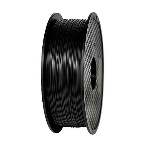 HONGMANLIANCHUANG 3D Printer Filament PETG 1.75mm 1kg 3D PRINT FDM black