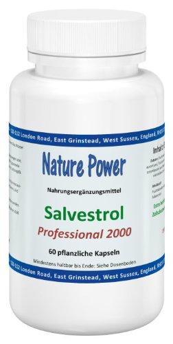 Nature Power Salvestrol | Professional 2000 | 60 Kapseln | vegetarisch | glutenfrei