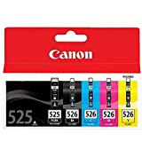 Canon  Pixma MG5250  Cartridge Large Black Ink Genuine(cyan, magenta, gelb, schwarz)(3Stk + 1Stk + 1Stk)