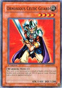 Yu-Gi-Oh! - Obnoxious Celtic Guard (SD5-EN007) - Structure Deck 5: Warrior's Triumph - 1st Edition - Common