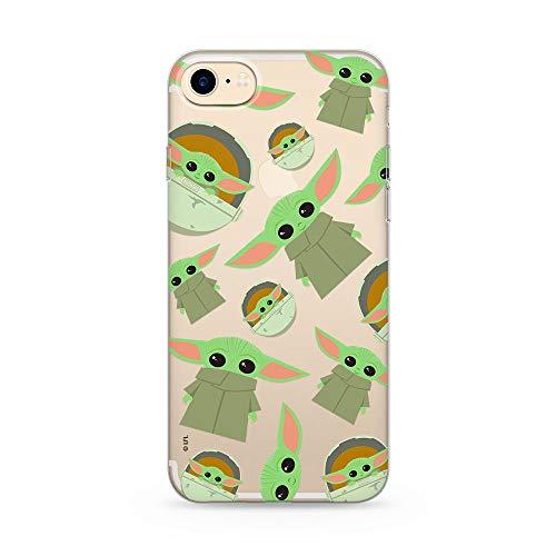 ERT GROUP Original & Offiziell Lizenziertes Star Wars Baby Yoda Handyhülle für iPhone 7, iPhone 8, iPhone SE2, Hülle, Hülle, Cover aus Kunststoff TPU-Silikon, schützt vor Stößen & Kratzern