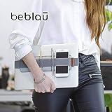 BEBLAU スリムオーガナイザー オフィス/自宅 職場 アクセサリーソリューション ポータブルオーガナイザー ノートパソコンとノートブックに取り付けられる多機能オーガナイザー