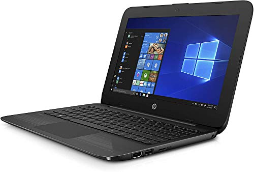 HP Stream Laptop PC 11.6' Intel N4000 4GB DDR4 SDRAM 32GB eMMC Includes Office 365 Personal for One Year, Jet Black