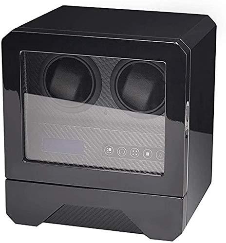 Caja automática Watch Winder, Pantalla táctil LCD, un Motor silencioso y la...