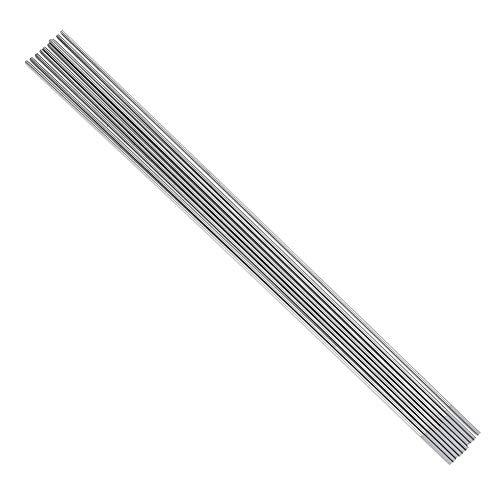 10 electrodos de tungsteno de cerio WC20, punta gris para máquina de soldar DC TIG