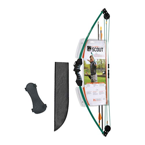 Bear Archery Scout Youth Bow Set -Hunter Green
