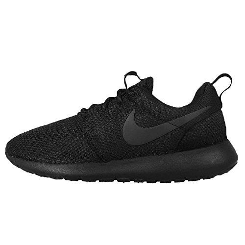 Nike Rosche Run Damen Sneakers, Negro (Black / Black-Anthracite), 36 EU