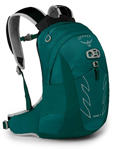 Osprey Tempest Jr Girl's Hiking Backpack Jasper Green, One Size