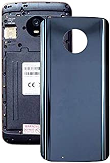 Mobile Phones Communication Accessories Battery Back Cover for Motorola Moto G6 (Blue) (Color : Blue)