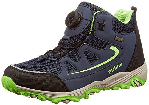Richter Kinderschuhe Tr-1 9246-8171 chłopięce buty trekkingowe, 7201atlantic Akz Apple - 37 eu