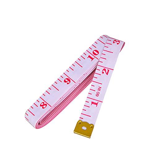 WDSZLH 150cm / 40'Regla de medición Corporal Costura Sastre Cinta métrica Medidor de centímetro Cinta métrica de Costura Suave (5 Piezas)