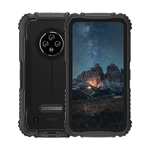 DOOGEE S35 Rugged Smartphone, Batteria 4350mAh, 2GB+16GB, 5,0  Cellulare Impermeabile IP68 IP69K Antiurto Telefono Robusto, tripla Fotocamera 13MP, Doppia SIM NFC GPS(Nero)