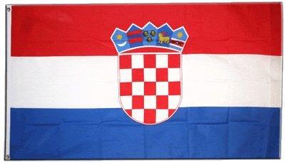 XXL Flagge Fahne Kroatien 150 x 250 cm