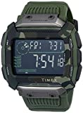 Timex Command Shock Digital CAT 54mm Watch – Olive Camo with Resin Strap