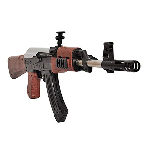 Divi Divine AK-47 Toy Shooting Gun for Kids with Pack of 500 Extra Plastic Bullets (24-inch)- Multi Color