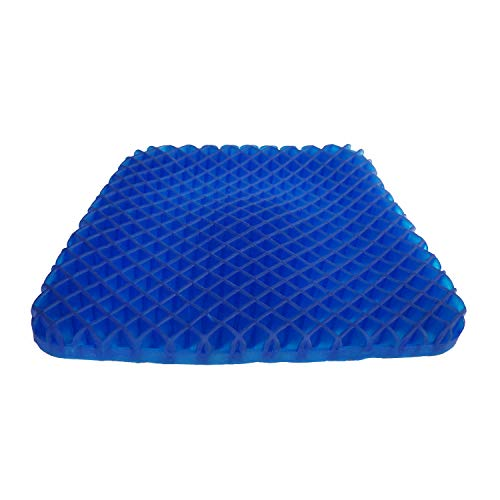 Gel Seat Cushion Pad Non-Slip Orthopedic Gel Sitter Cushion for Tailbone Pain Office Chair Car Seat Cushion