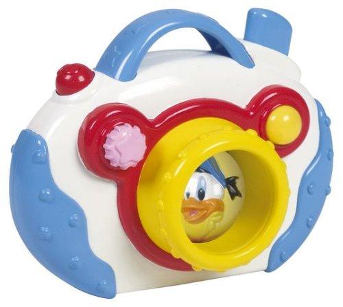 Clementoni - 14252 - Jouet Premier Age - Bébé Disney - Appareil Photo Lumière Et Sons Mickey