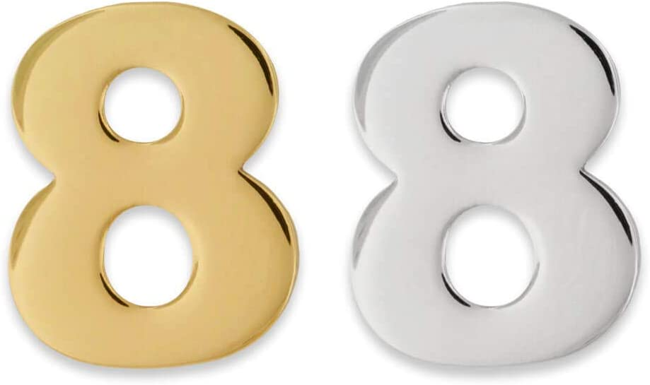PinMart Number Mesa Sale price Mall Eight 8 Lapel Anniversary Birthday Pin Jew