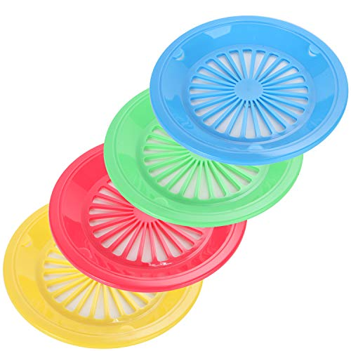 "Trenton Gifts 10"" Reusable Paper Plate Holder – Set of 12"