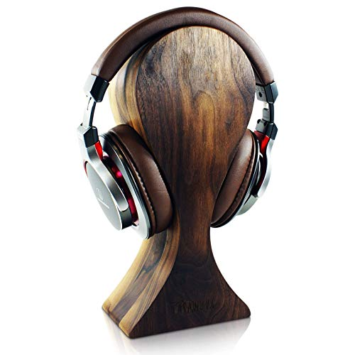 Heirloom Solid Wood Omega Headphones Stand/Hanger/Holder