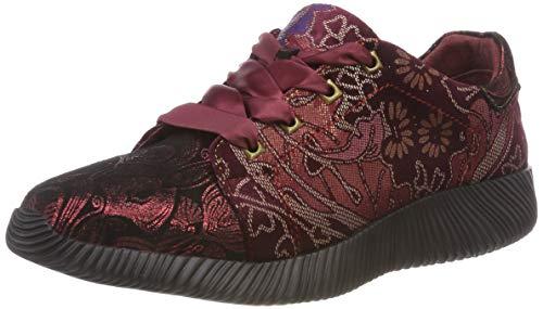 LAURA VITA Delphine 178, Zapatillas para Mujer, Rojo (Rouge Rouge), 37 EU