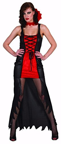 YOU LOOK UGLY TODAY Halloween Costume Déguisement Adulte Femme, Halloween Costume Femme Sexy Vampire M/L - 42
