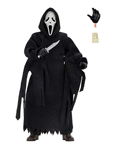 NECA- Scream: Figura de acción Ghostface con Ropa (30503441373)