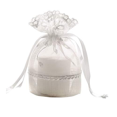 Guangcailun Koord Tassen Slub Garen Sieraden Pouches Candy Container Drawable sieraden garen zak Wedding Party Favor…