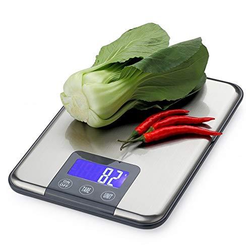 NOBRAND Digitale Keuken Schaal 15KG Schaal X 1g Dieet Eiwit Voedsel Postkaart Visschaal Keuken Elektronische Schaal Gewicht Schaal AL
