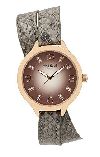 Mike Ellis New York orologio da donna Streamline, analogico, al quarzo, cinturino in ecopelle SL3142F1