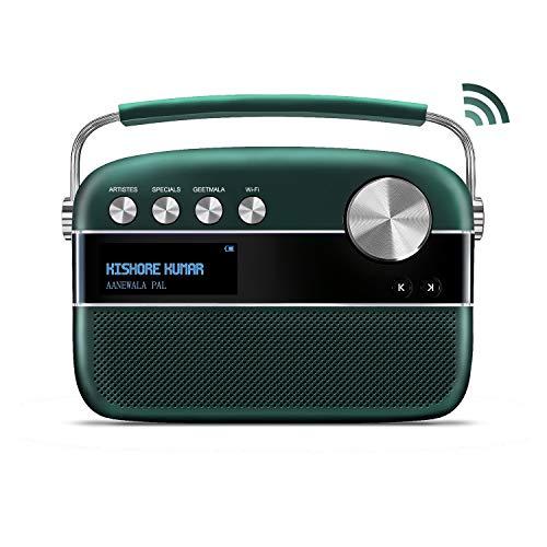 SAREGAMA Carvaan SC01 Portable Digital Music Player - Hindi (with App WiFi, Green)