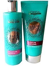 L'oreal Hair Spa Color Pure Combo Shampoo (250 ml) & Conditioner (200 ml)