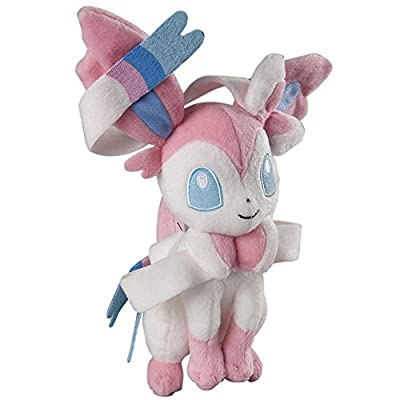 Sylveon ~9.5 Mini-Plush: Pokemon Evolution of Eevee Series by TOMY
