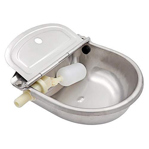 Huisdier Water Feeder 304 Roestvrij Staal Automatische Drinkkom Water Drijvende Bal Koe Hond Varken Paard Kip Huisdier Sliver Andere Kleine Dieren