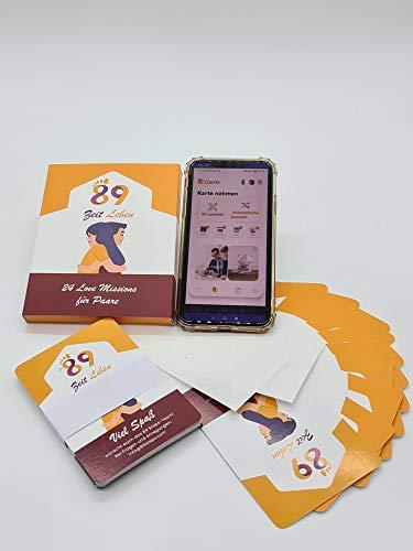89special Zeitleben - DAS Paargeschenk 2021 - Neu: Box + App! 24 aufregende & inspirierende Love Missions - modern, liebevoll, herausfordernd und belebend