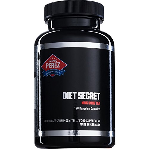 Diet Secret - Ning Hong Tea - Brucia grassi e soppressore dell'appetito - 120 capsule