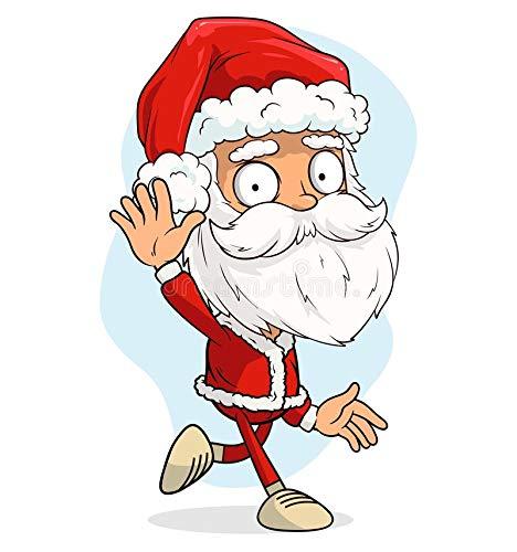 DIY-Pittura Digitale Elf Clipart Natale Serie 62 Fai-da-Te Digitale Pittura a Olio su Tela per Adulti e Bambini Vernice di Numero Kit Home Decorazioni Regali per Bambini e Adulti